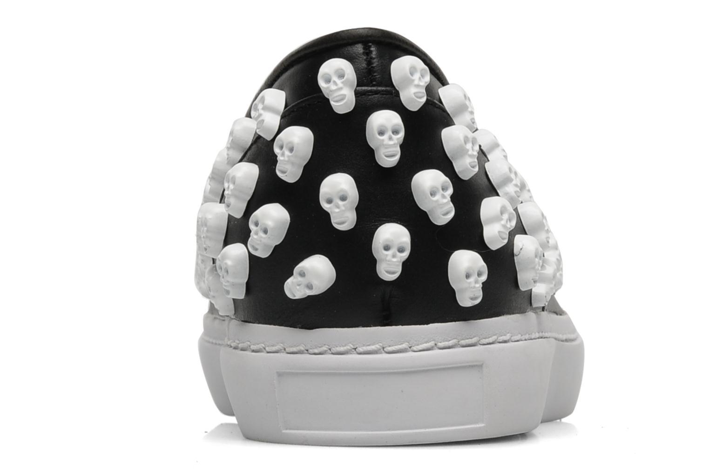 Sneaker Jeffrey Campbell Skull Poli schwarz ansicht von rechts