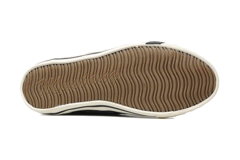 Baskets Mustang shoes Marco Gris vue haut