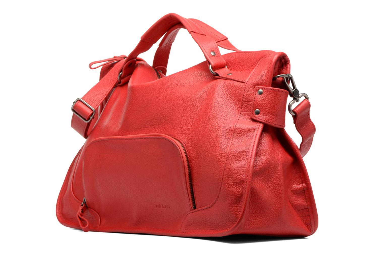 Handtaschen Nat & Nin Megan rot schuhe getragen