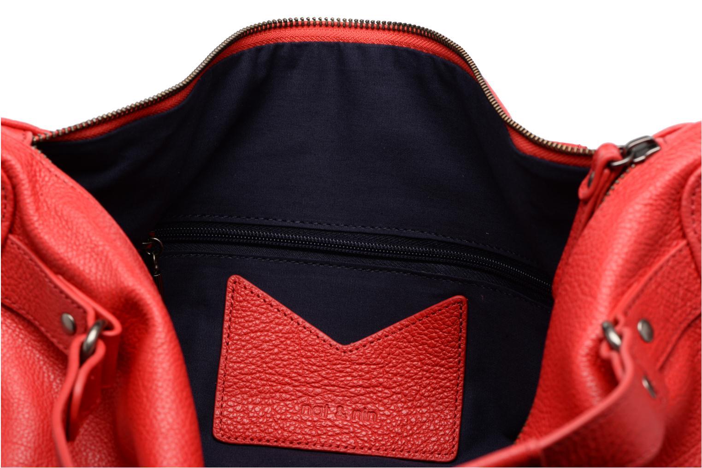Handtaschen Nat & Nin Megan rot ansicht von hinten