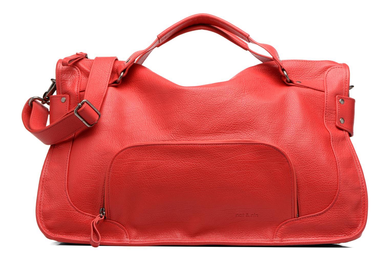 Handtassen Nat & Nin Megan Rood detail