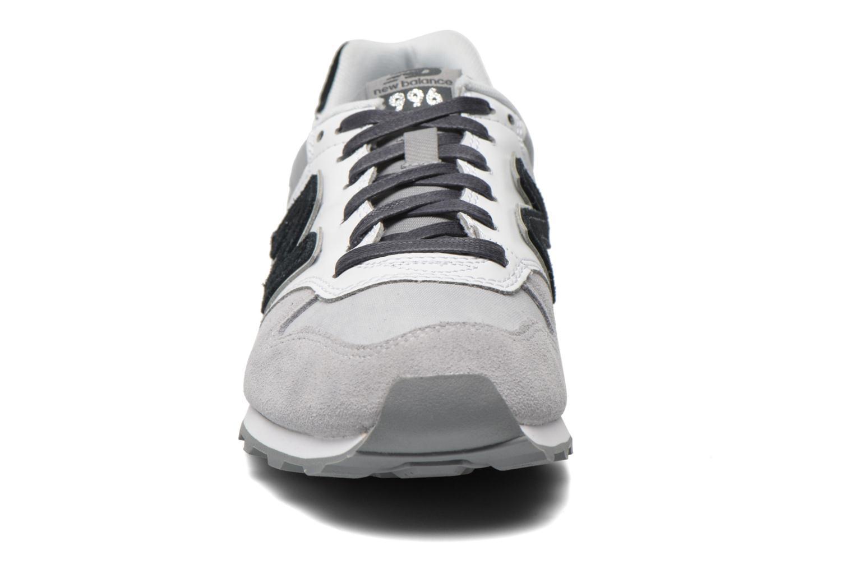 Sneaker New Balance WR996 grau schuhe getragen