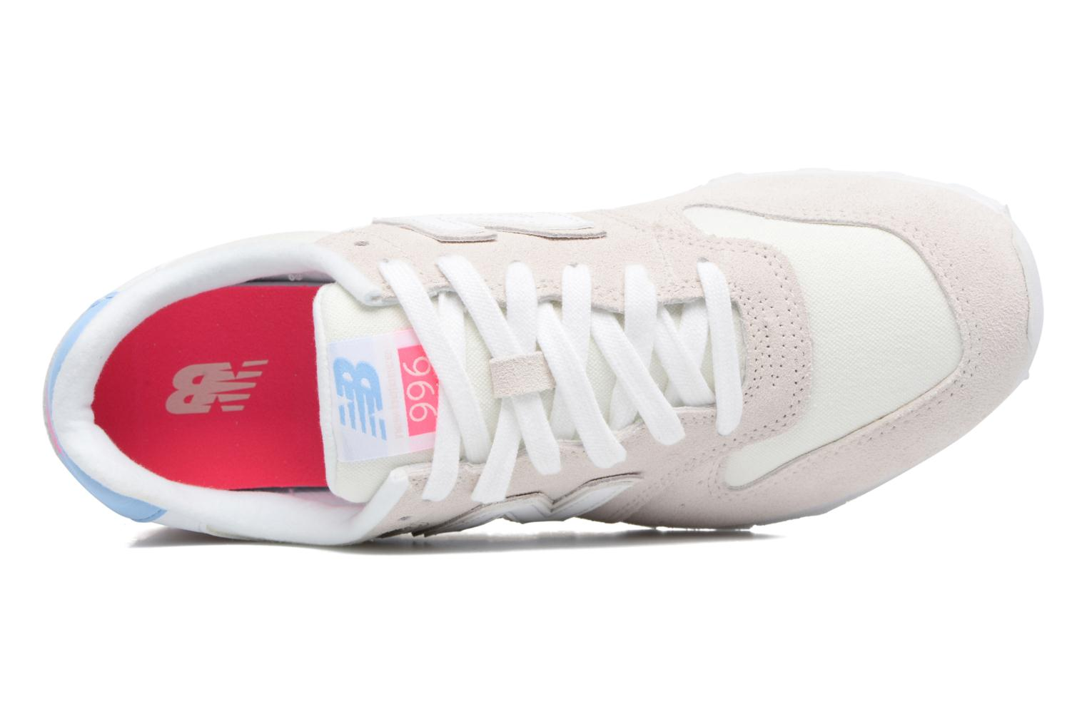 Trainers New Balance WR996 White view from the left