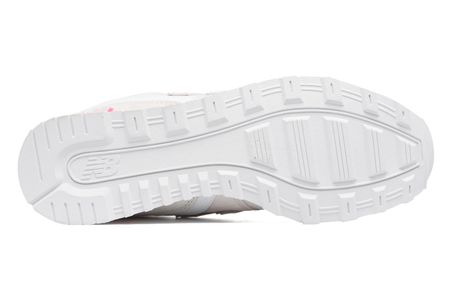 Trainers New Balance WR996 White view from above