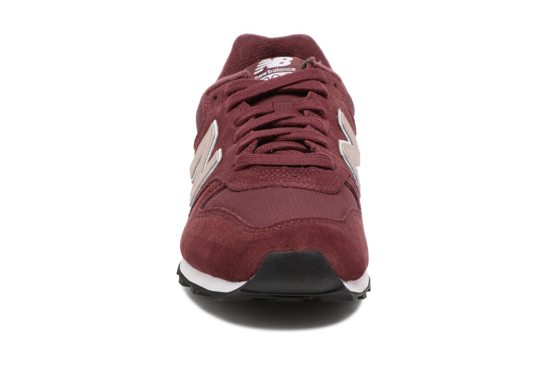 Baskets New Balance WR996 Bordeaux vue portées chaussures