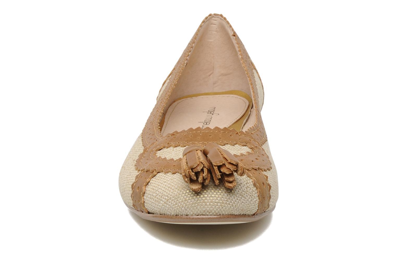 Ballerines Mellow Yellow Natacha Marron vue portées chaussures