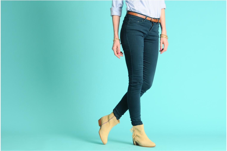 Bottines et boots Mellow Yellow Nymfia Beige vue bas / vue portée sac