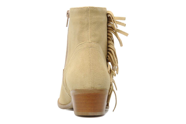 Bottines et boots Mellow Yellow Nymfia Beige vue droite
