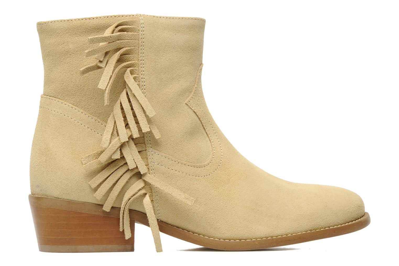 Bottines et boots Mellow Yellow Nymfia Beige vue derrière