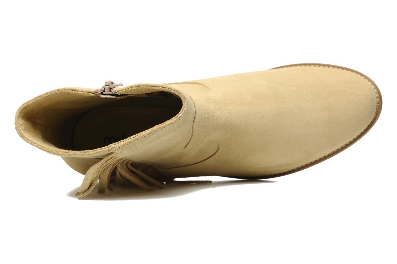 Bottines et boots Mellow Yellow Nymfia Beige vue gauche