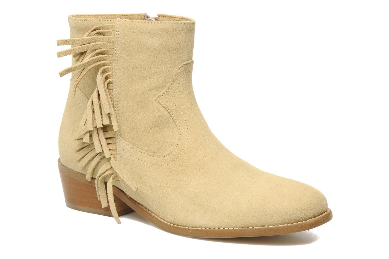 Bottines et boots Mellow Yellow Nymfia Beige vue détail/paire