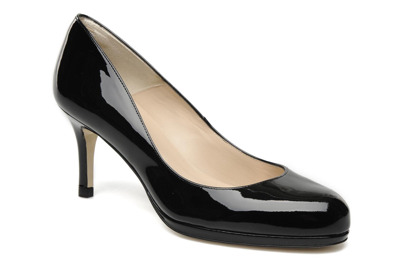 Marques Chaussure luxe femme L.K. Bennett femme Eevi Black-Black Patent
