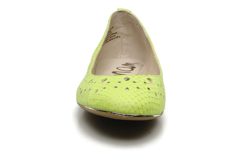 Ballerines Sam Edelman Leighton Jaune vue portées chaussures