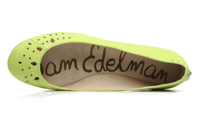 Ballerines Sam Edelman Leighton Jaune vue gauche