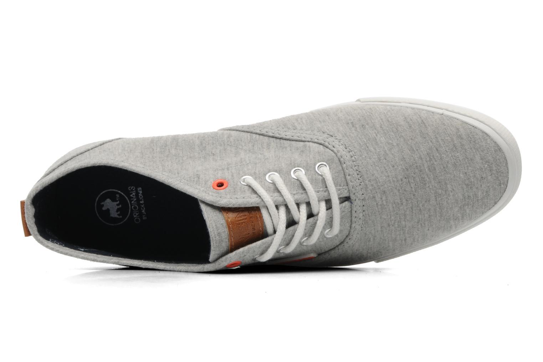 Sneaker Jack & Jones JJ Spider grau ansicht von links