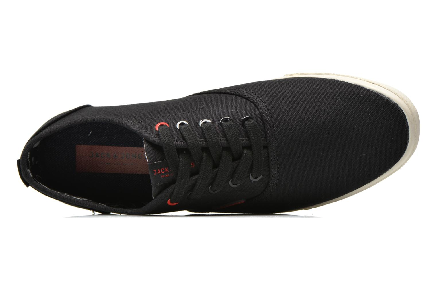 Trainers Jack & Jones JJ Spider Black view from the left