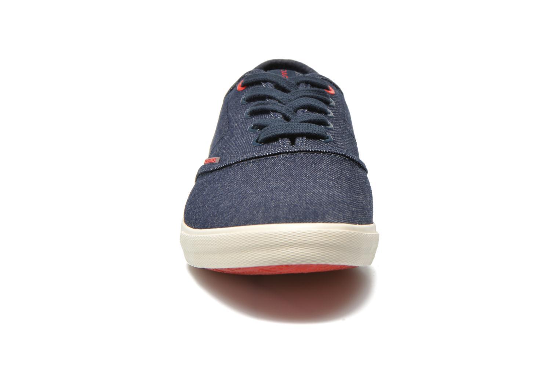 Sneaker Jack & Jones JJ Spider blau schuhe getragen