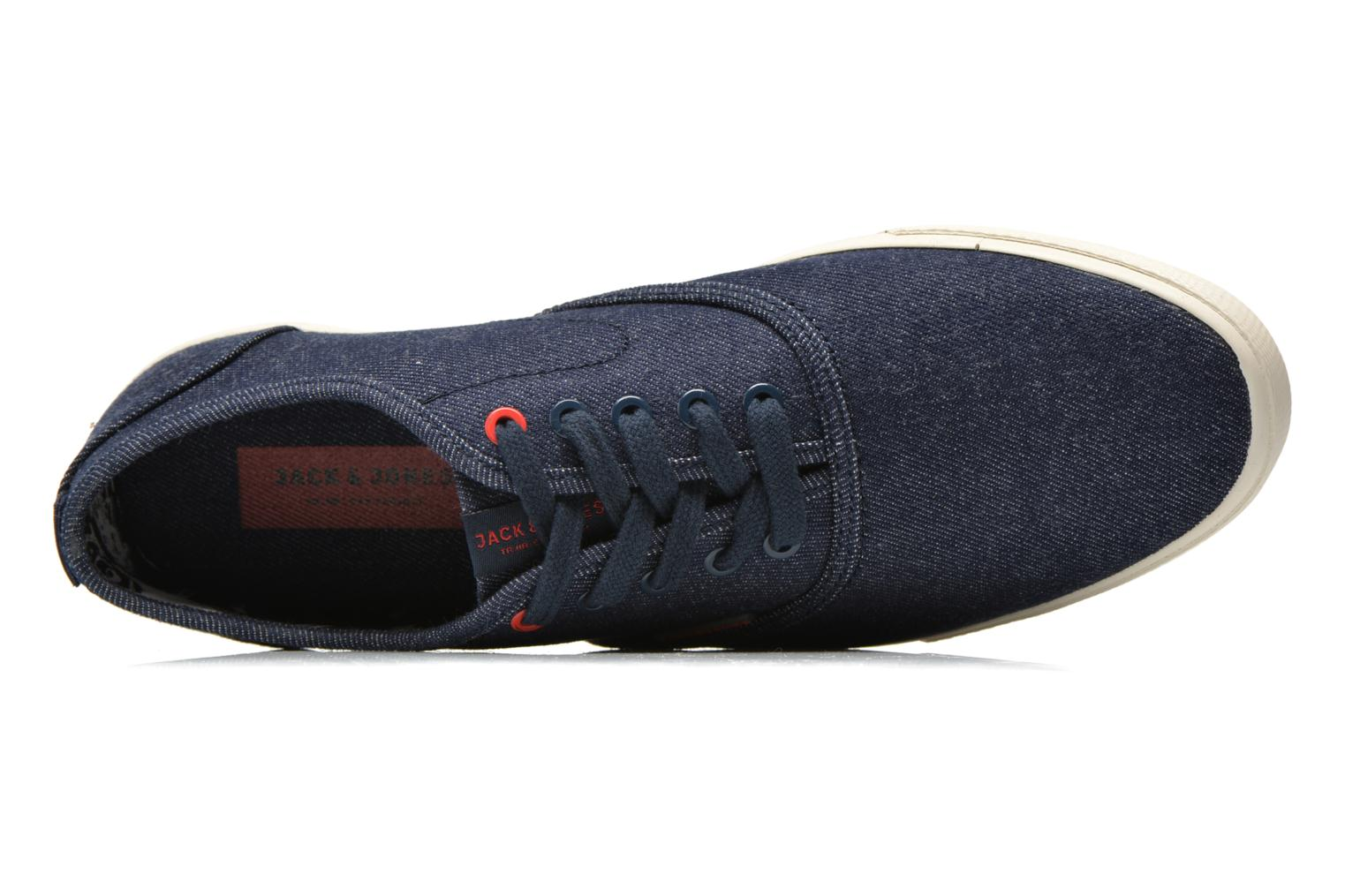 Baskets Jack & Jones JJ Spider Bleu vue gauche
