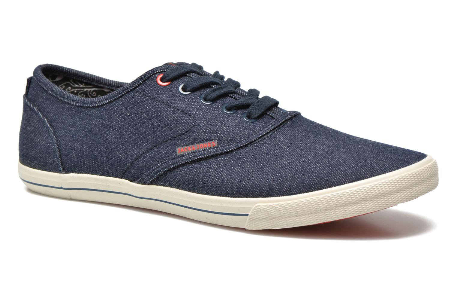 Sneakers Jack & Jones JJ Spider Blauw detail