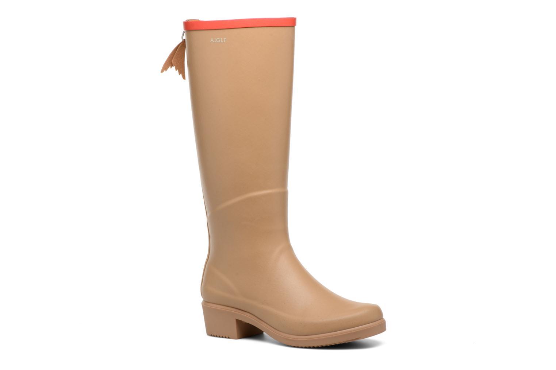 Zapatos cómodos y versátiles Aigle Miss Juliette A (Beige) - Botas en Más cómodo