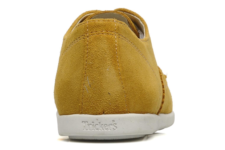 Chaussures à lacets Corniche by trickers Larry CM1000 Jaune vue droite