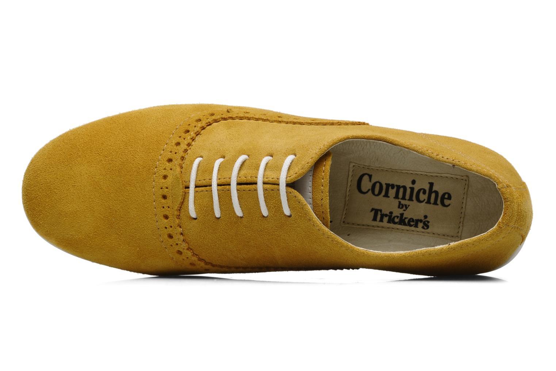 Schnürschuhe Corniche by trickers Larry CM1000 gelb ansicht von links