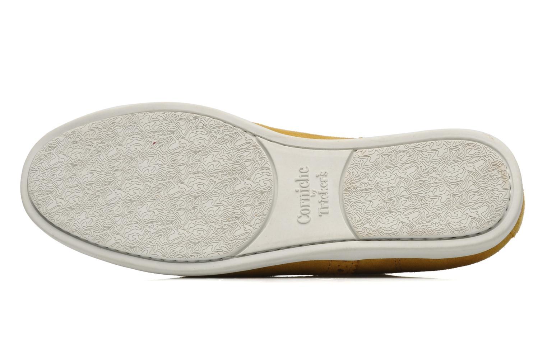 Chaussures à lacets Corniche by trickers Larry CM1000 Jaune vue haut