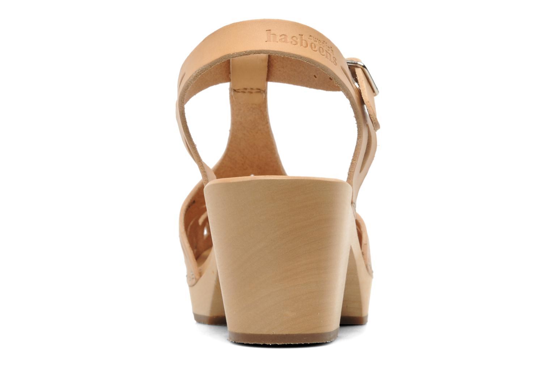 Sandalen Swedish Hasbeens Lacy Sandal beige ansicht von rechts
