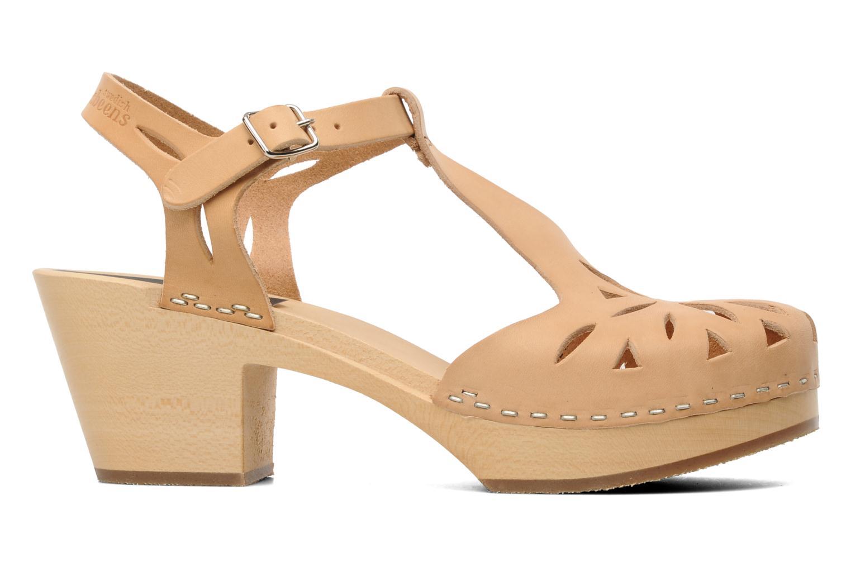 Sandales et nu-pieds Swedish Hasbeens Lacy Sandal Beige vue derrière