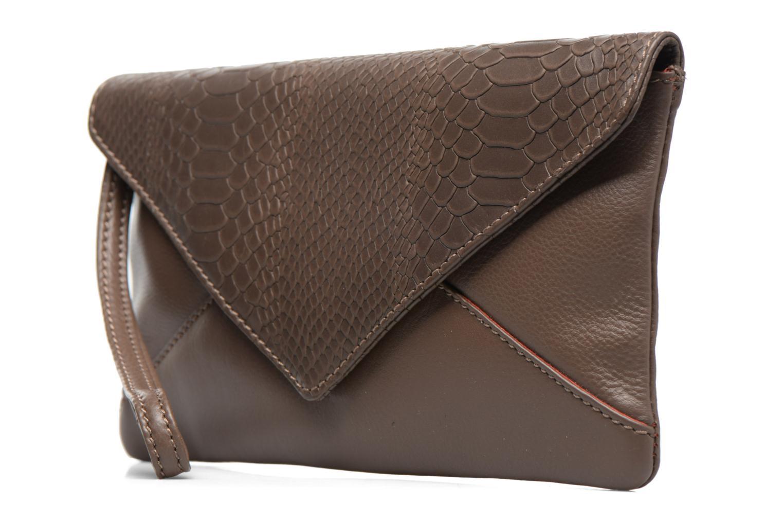 Handväskor Loxwood Pochette Lana Brun bild av skorna på