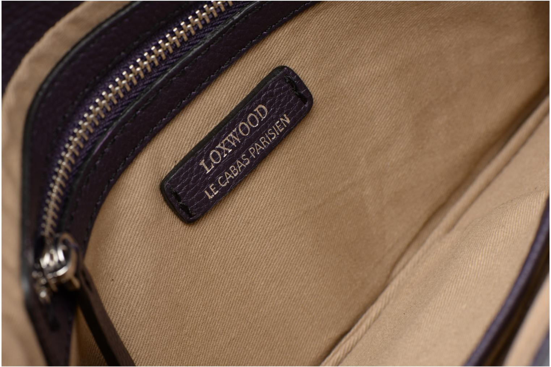 Handtassen Loxwood Pochette Lana Paars achterkant