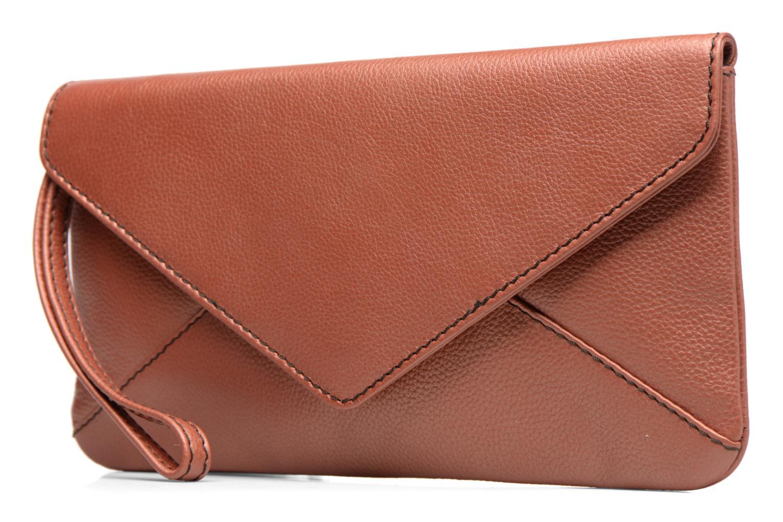 Sacs à main Loxwood Pochette Lana Orange vue portées chaussures