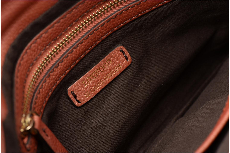 Handtassen Loxwood Pochette Lana Oranje achterkant