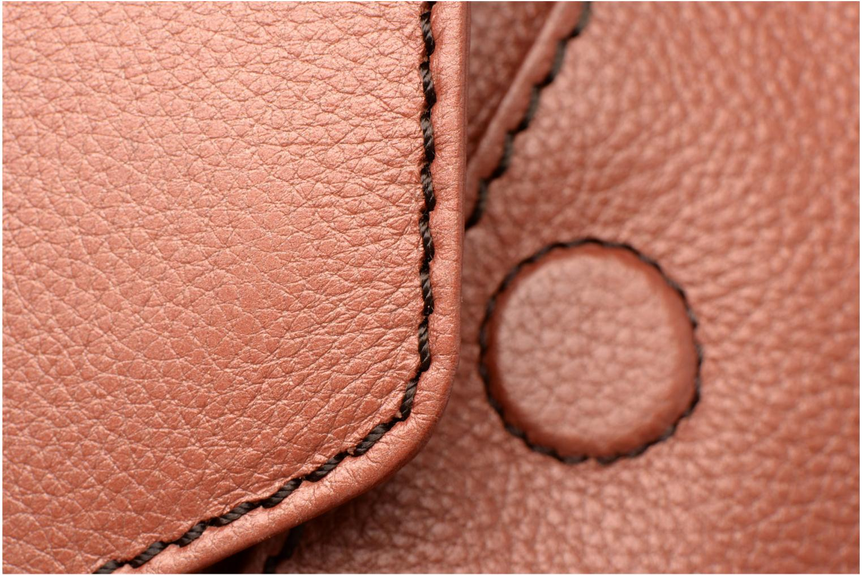 Handbags Loxwood Pochette Lana Orange view from the left