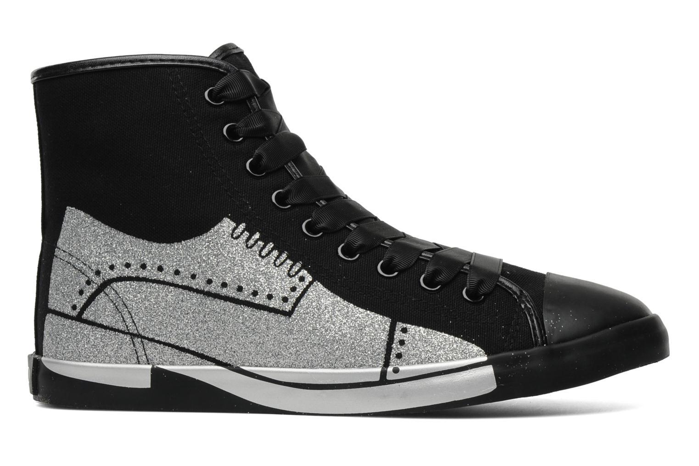 Sneakers Be&D Wingtip Zwart achterkant