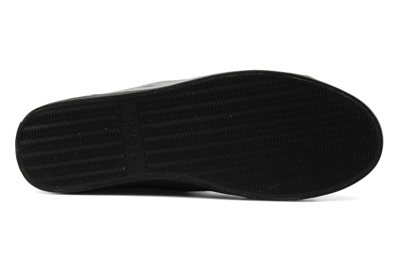 Sneakers Be&D Wingtip Zwart boven