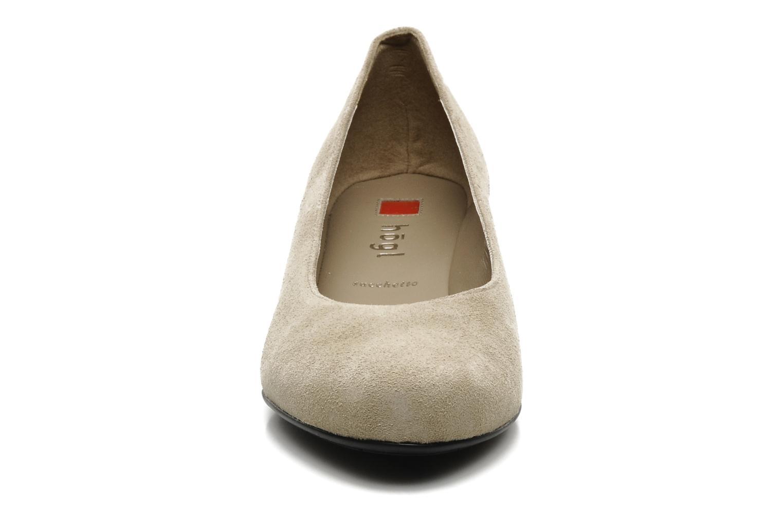 Escarpins HÖGL Compina Beige vue portées chaussures