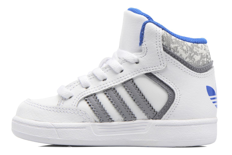 Sneaker Adidas Originals Varial Mid I weiß ansicht von vorne