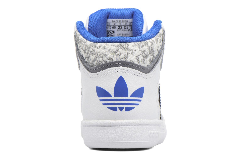 Sneaker Adidas Originals Varial Mid I weiß ansicht von rechts