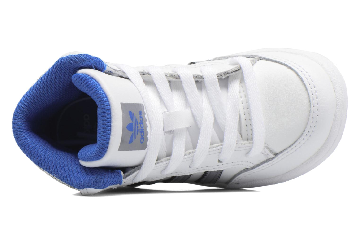 Trainers Adidas Originals Varial Mid I White view from the left