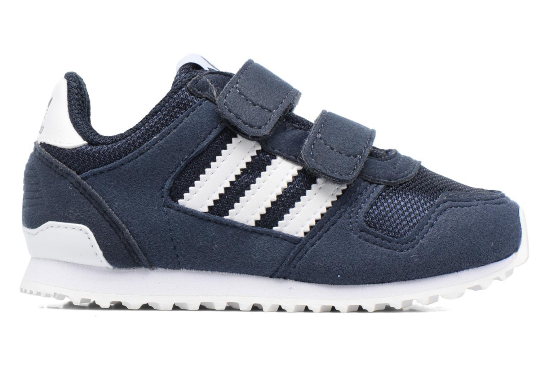 Sneaker Adidas Originals Zx 700 Cf I blau ansicht von hinten