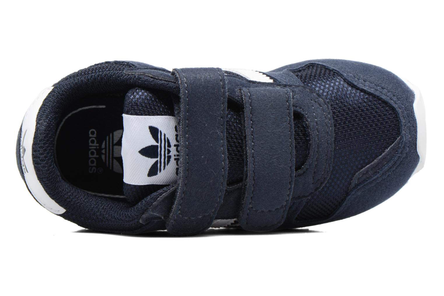 Trainers Adidas Originals Zx 700 Cf I Blue view from the left