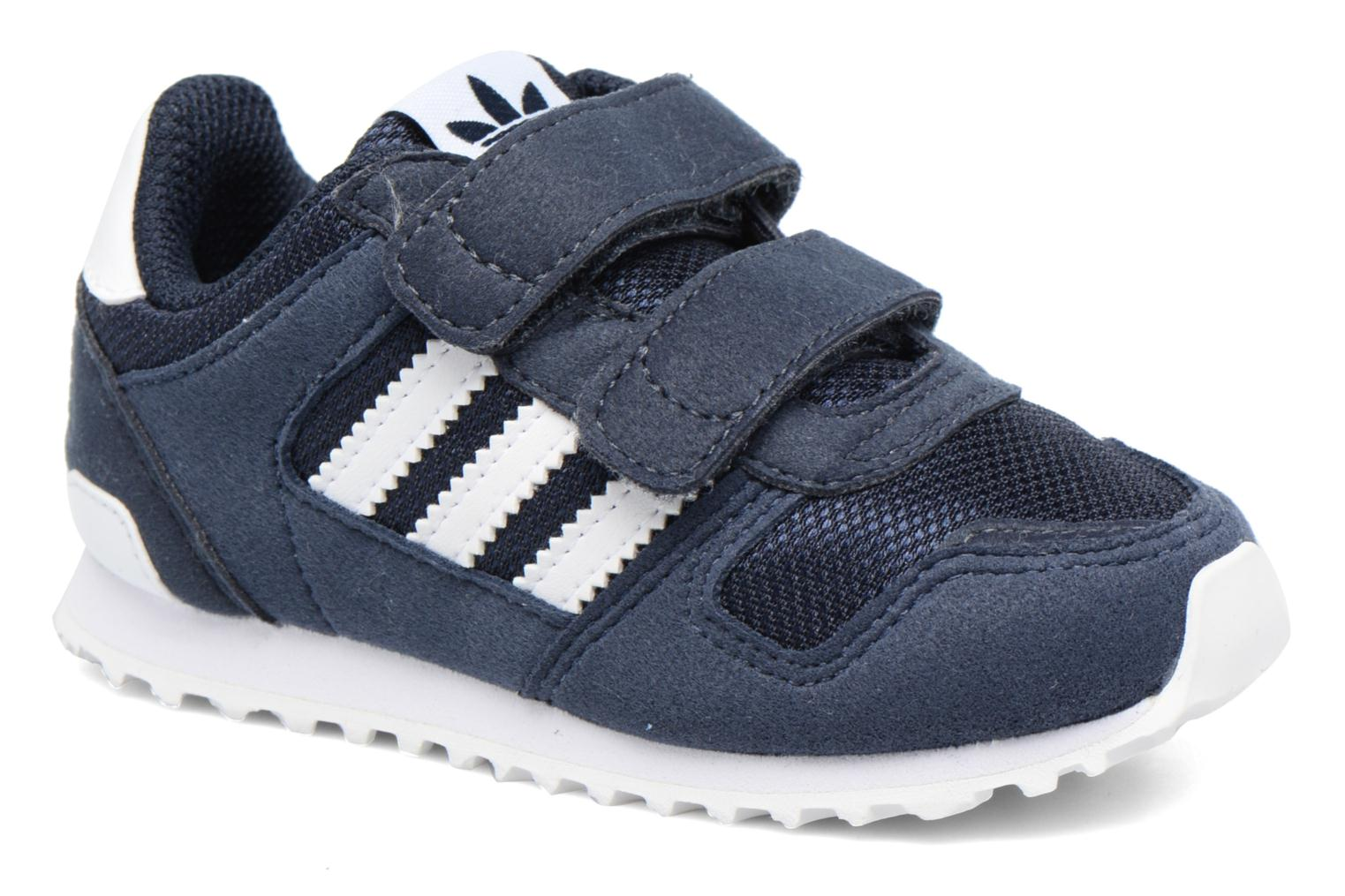 Trainers Adidas Originals Zx 700 Cf I Blue detailed view/ Pair view