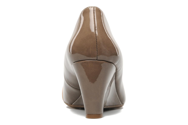 Zapatos de tacón Naturalizer BRYLIE Beige vista lateral derecha