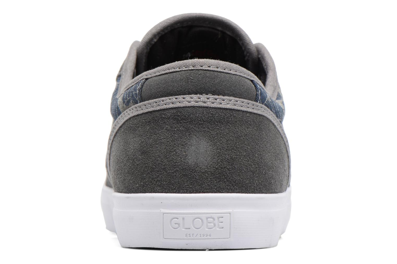 Zapatillas de deporte Globe Motley Gris vista lateral derecha
