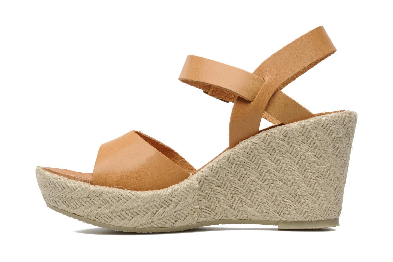 Sandalen Quiksilver Georgiana braun ansicht von vorne