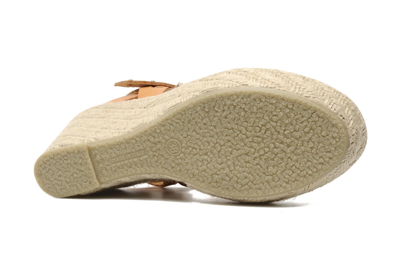 Sandalen Quiksilver Georgiana braun ansicht von oben