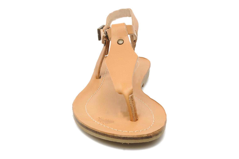 Sandales et nu-pieds Quiksilver Bloomsdale Beige vue portées chaussures