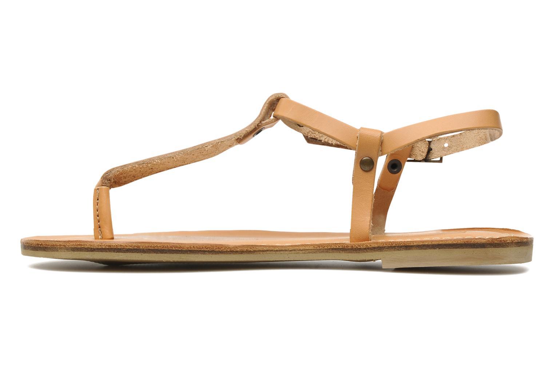 Sandales et nu-pieds Quiksilver Bloomsdale Beige vue face