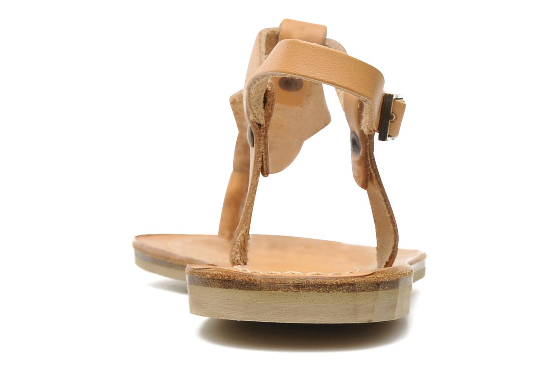 Sandales et nu-pieds Quiksilver Bloomsdale Beige vue droite